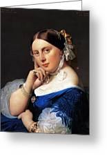Madame Delphine Ingres Greeting Card