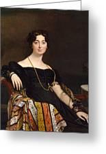 Madame Jacques-louis Leblanc. Francoise Poncelle Greeting Card