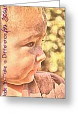 Made To Make A Difference Greeting Card