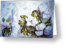 Madelyne's Magnolias Greeting Card
