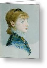 Mademoiselle Lucie Delabigne Greeting Card