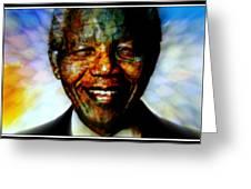 Madiba Father Of Peace And Forgiveness Greeting Card