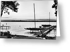 Madison Capitol Across Lake Monona Greeting Card
