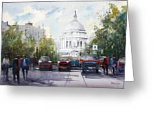 Madison - Capitol Greeting Card