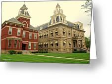 Madison County Ohio Greeting Card
