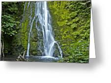Madison Creek Falls #1 Greeting Card