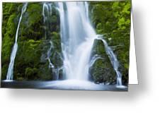 Madison Creek Falls #2 Greeting Card