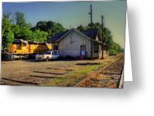 Madison Georgia Historic Train Station Greeting Card
