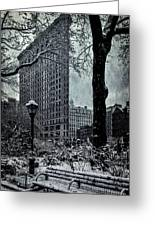 Madison Square And The Flatiron Building Greeting Card
