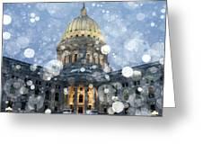 Madisonian Winter Greeting Card