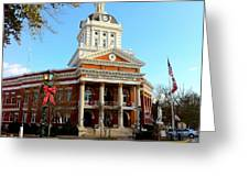 Madison's Morgan County Courthouse Greeting Card