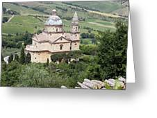 Madonna Di San Biagio Greeting Card