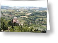 Madonna Di San Biagio Tuscany Greeting Card