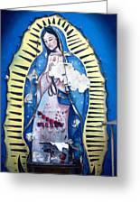 Madonna Painting Greeting Card