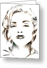 Madonna Greeting Card