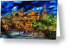 Madrid Gothic Greeting Card