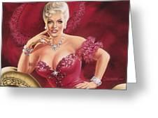 Mae West Greeting Card