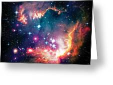 Magellanic Cloud 1 Greeting Card by Jennifer Rondinelli Reilly - Fine Art Photography