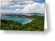 Magen's Bay From Drake's Seat Greeting Card