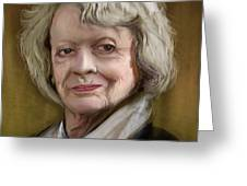 Maggie Smith Greeting Card