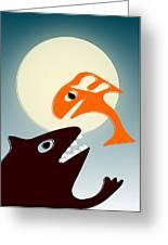 Magic Fish Greeting Card