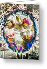 Magic Flowering Greeting Card