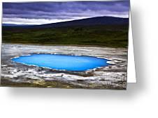 Magic Iceland Greeting Card