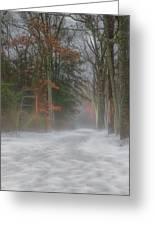 Magic In The Fog 3 Greeting Card