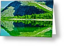 Magic Kobvatnet Norway. Time To Remember. Greeting Card
