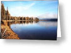 Magic On Seeley Lake Greeting Card