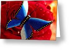 Magic On The Wall Greeting Card