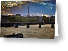 Magic Paris Greeting Card