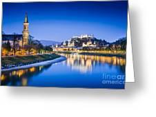 Magic Salzburg Greeting Card