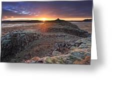 Sunrise South West Iceland Greeting Card