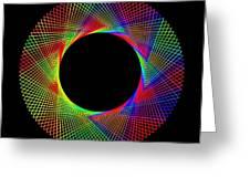 Magic Wheel 2 Greeting Card