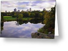 Magical 1 - Central Park - New York Greeting Card