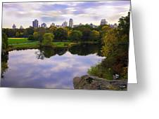 Magical 2 - Central Park - Nyc Greeting Card