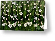Magical Blooms Of The Deep Forest Greeting Card