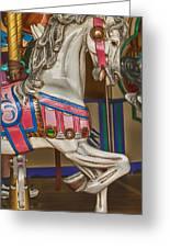 Magical Carrsoul Horse Greeting Card