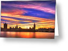 Magical London Greeting Card