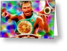 Magical Manny Pacquiao Greeting Card