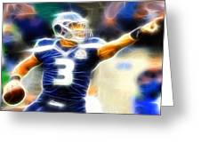 Magical Russell Wilson Greeting Card