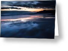 Magical Sunset Greeting Card