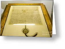 Magna Carta Greeting Card