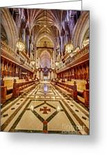 Magnificent Cathedral Iv Greeting Card