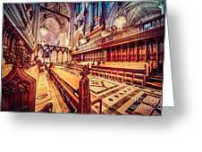 Magnificent Cathedral Greeting Card