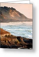 Magnificent Coast  Greeting Card