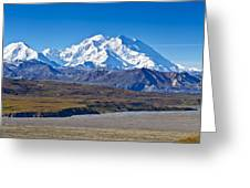 Magnificent Denali Greeting Card