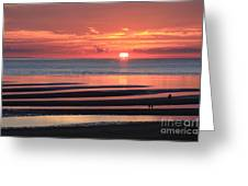 Magnificent Sunset Greeting Card