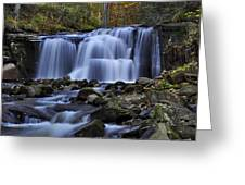 Magnificent Waterfall Greeting Card